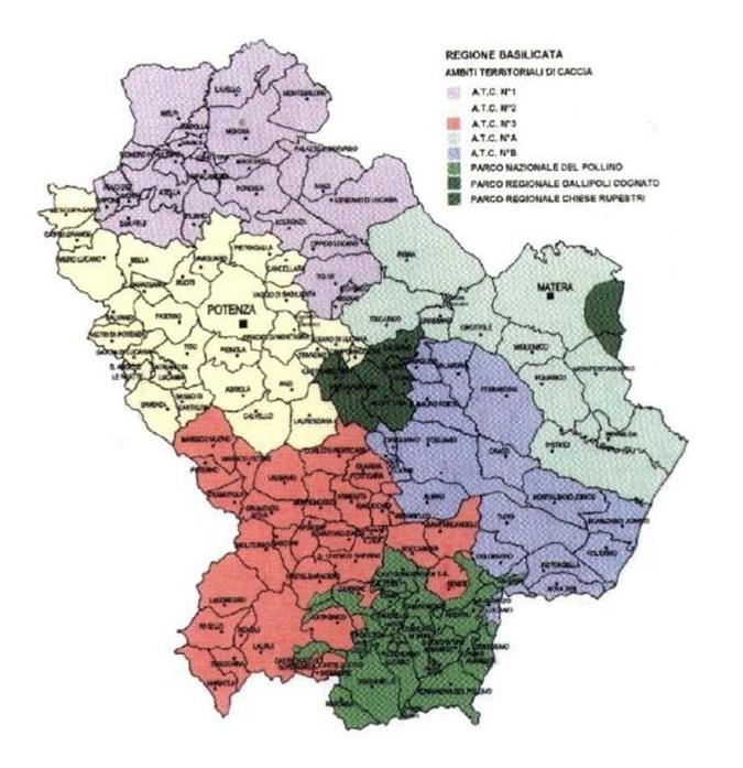 Lavello Potenza Cartina Geografica.Atc1 Potenza Atc1 Di Potenza